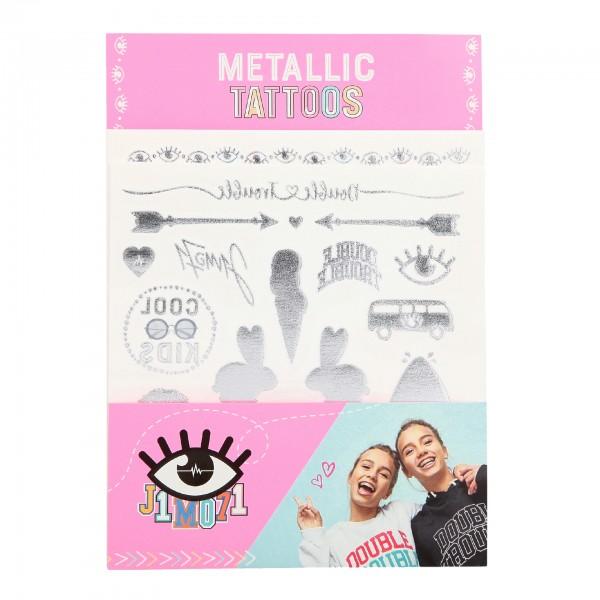 Depesche 10373 Tattoos mit Metallic Effekt  Lisa und Lena J1MO71