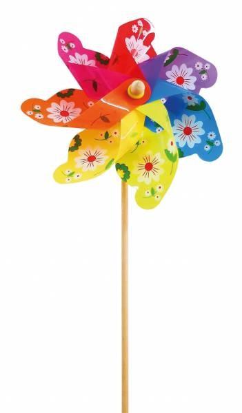 Windmühle Flowers Ø 31cm H 75cm