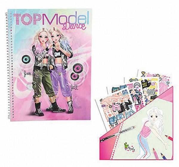 TopModel Dance Sticker & Design Buch