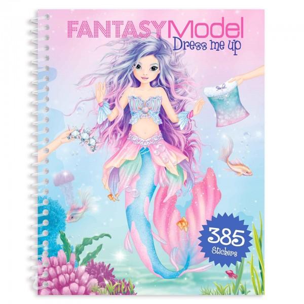 Depesche Fantasy Model Dress me up Stickerbook