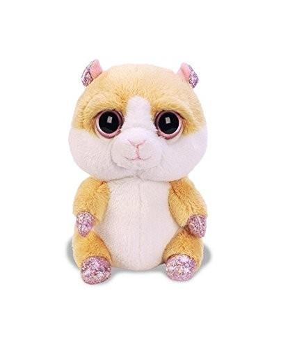 Li'l Peepers 11100  Suki Gifts Fun Plüschtier - Biscuit Hamster Plüsch