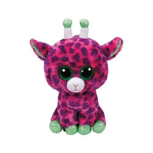TY 37142 - Gilbert - Giraffe Pluschtier mit Glitzeraugen Glubschi's Beanie Boo's