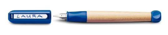 LAMY 16660 - Füllhalter abc A blau, Modell 09