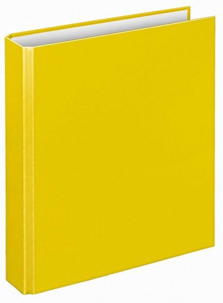 Veloflex Ringbuch A5 Basic gelb 2 Ringe Ringordner