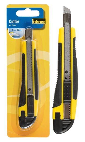 Idena Cutter Kunststoff Cuttermesser 9mm