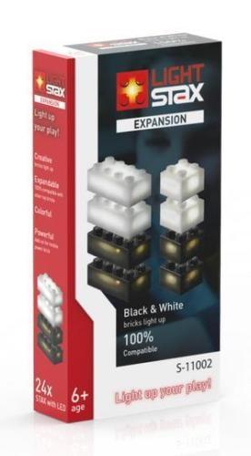 Albanico S-11002 Light Stax Expansion Pack black & white schwarz & weiß