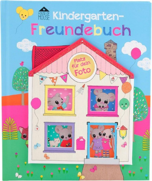 Depesche House of Mouse Kindergartenfreundebuch