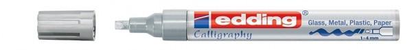 Edding 755 Glanzlackmarker  creative 1- 4mm silber