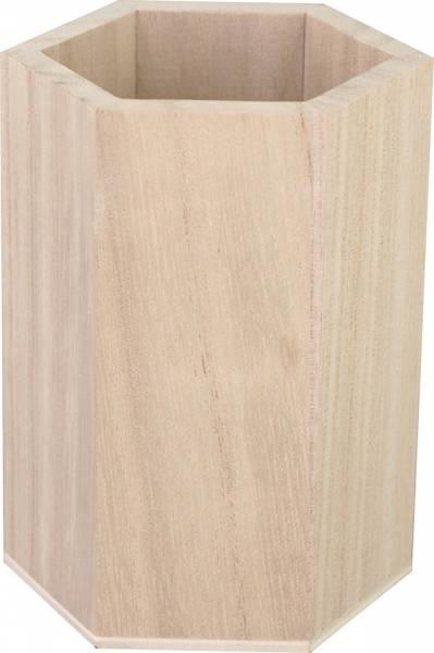 KREUL Holz-Stiftehalter Waben 1 Stück