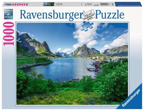 Ravensburger Puzzle Auf den Lofoten, 1000 Teile