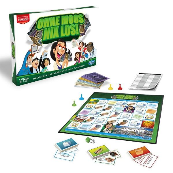 Hasbro Ohne Moos nix los Familienspiel Gesellschaftsspiel
