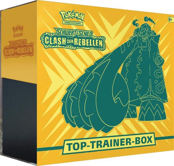 Pokemon  Clash der Rebellen Top Trainer Box
