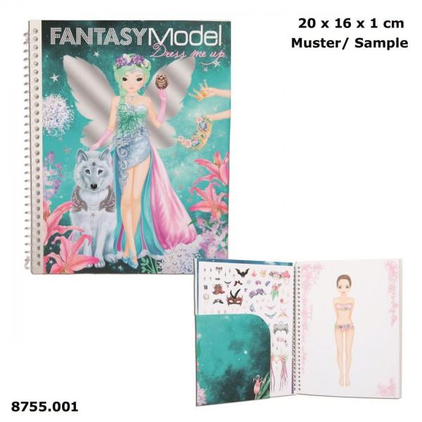 Depesche Stickerbuch Dress Me Up, Fantasy