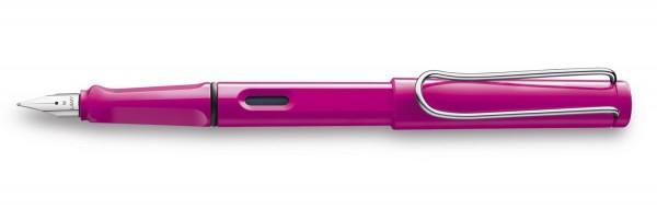 LAMY Füllhalter Safari Modell Nr. 013 pink, Feder F