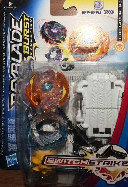Hasbro Beyblade Burst  Switch Strike Roktavor R3