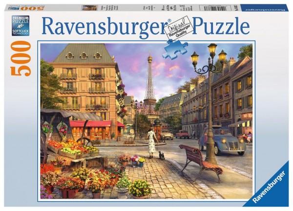 Ravensburger Puzzle Spaziergang durch Paris, 500 Teile