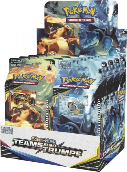 Pokemon Sonne Mond 09 Teams sind Trumpf Themendeck