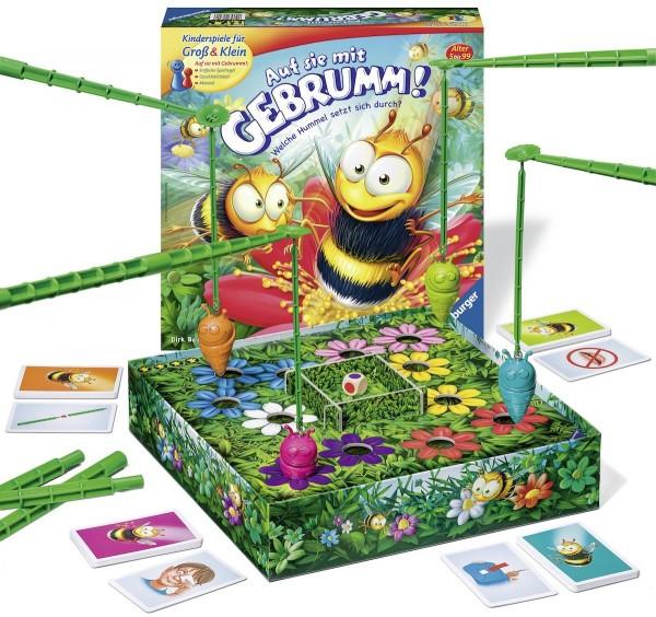 Ravensburger Kinderspiele 22320 Auf sie mit Gebrumm Kinderspiel