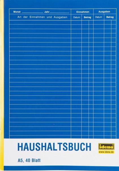 Idena Haushaltsbuch A5 40 Blatt