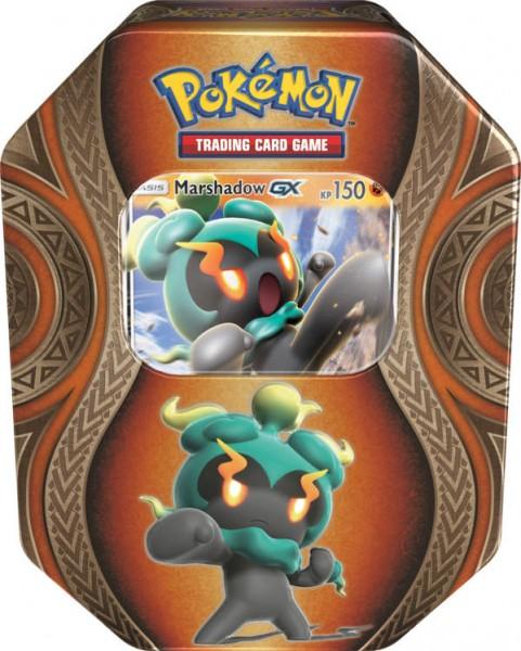 Pokemon Herbst Tin 70 Marshadow GX Deutsch Sammelkartenspiel
