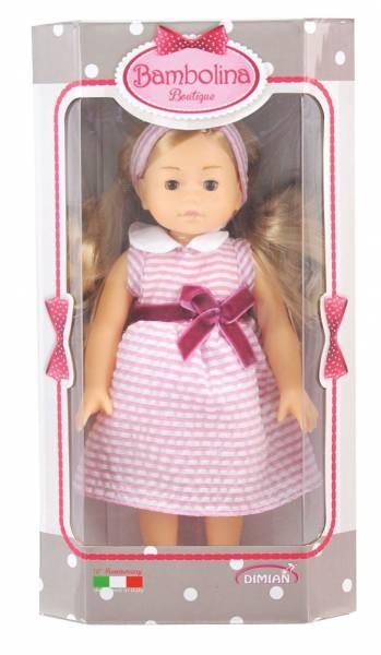 Bambolina Boutique Puppe Mit Haar 20cm Sortiert Schreib Und