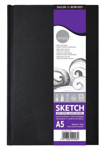 Simply Skizzenbuch A5 Notizbuch Lucas