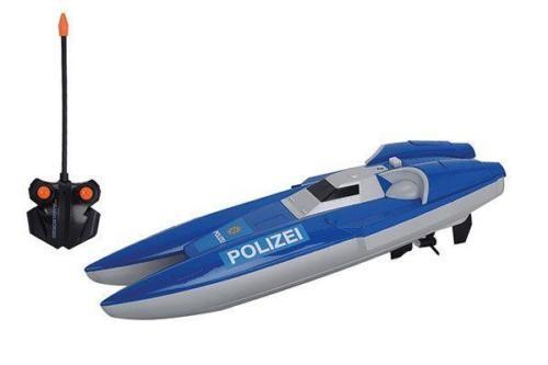 Dickie RC Polizei Boot ferngesteuerter Polizeiboot 40 MHZ