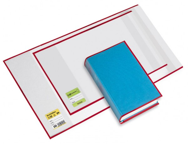 Buchhülle Buchumschlag 225x375 mm mit Lasche