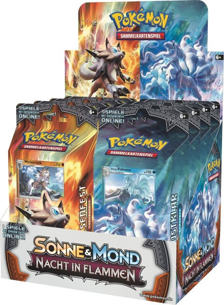 Pokemon Sonne Mond 3 Nacht in Flammen Themendeck