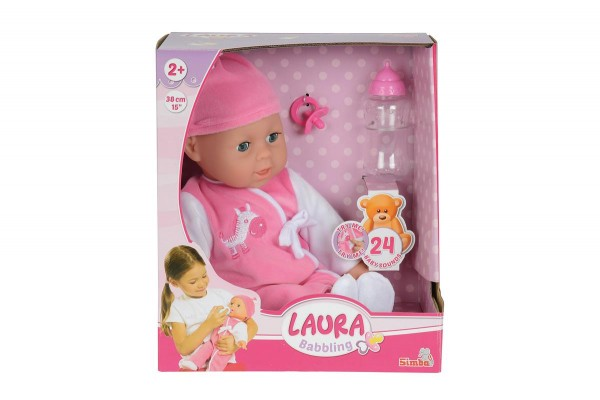 Simba Puppe My Love Laura Babysprache