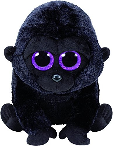 TY 37144 George Gorilla 24cm Pluschtier mit Glitzeraugen Glubschi's Beanie Boo's