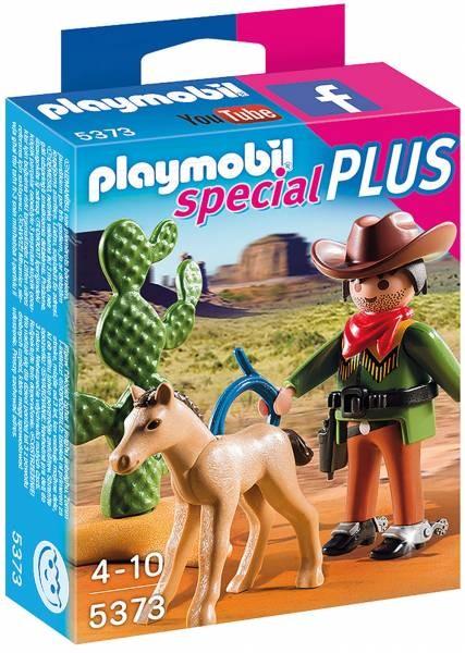 PLAYMOBIL® Cowboy mit Fohlen