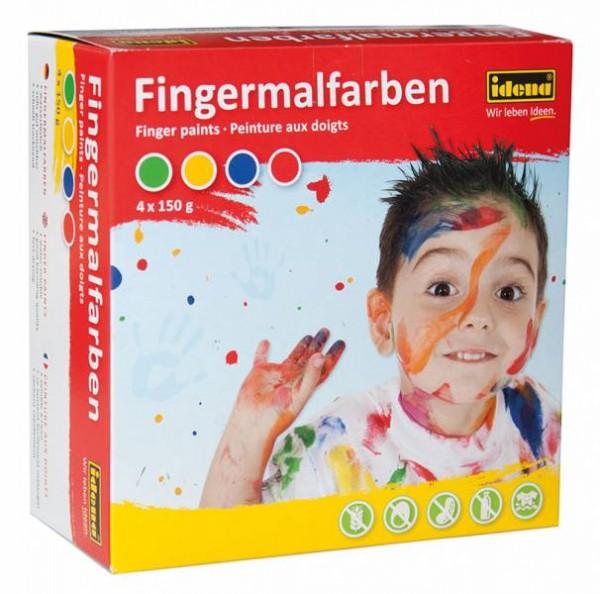 Idena Fingermalfarben Malfarbe