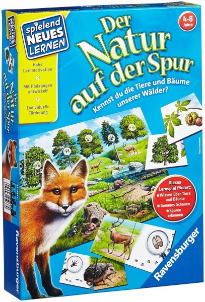 Ravensburger 25037 Der Natur auf der Spur Kinderspiel