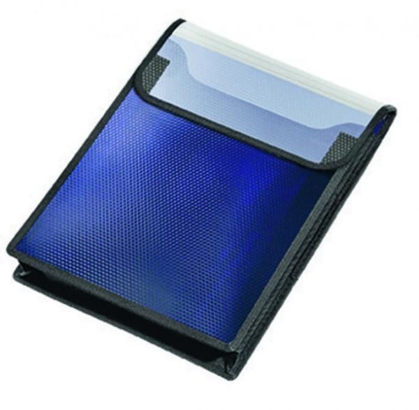 Veloflex Heftbox A4 hoch Velobag Sammelbox blau