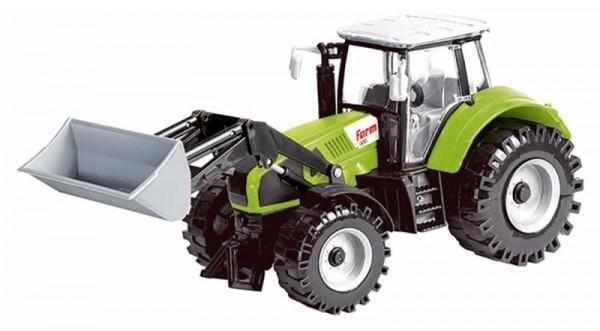 Idena traktor frontlader grün m schwungradantrieb schreib und