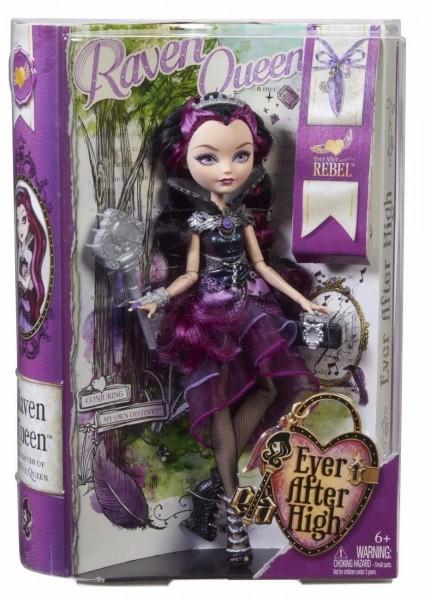 Mattel BFW94 - Ever After High - Rebel Puppe ,Raven Queen Barbie