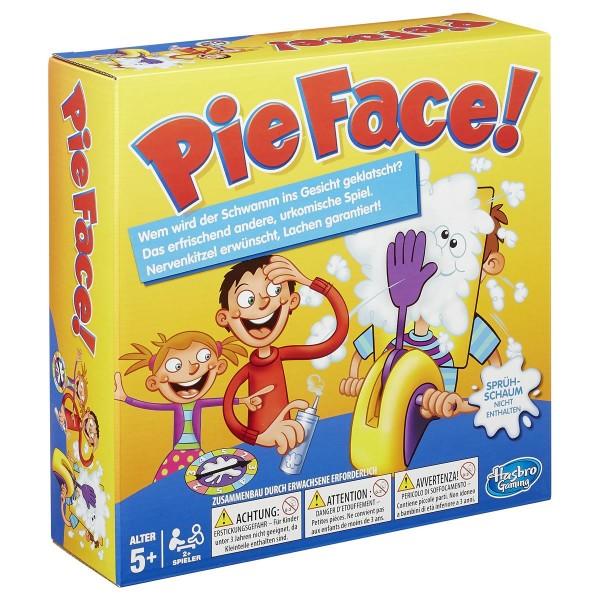 Hasbro - Pie Face Spiel Partyspiel Kinderspiel