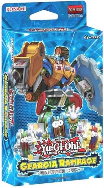 YuGiOh Geargia Rampage Themendeck Sammelkarten Trading Card