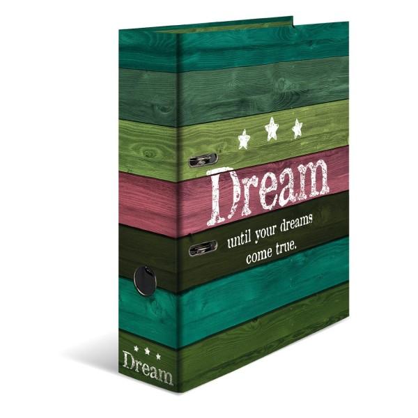 HERMA Motivordner Ordner A4 Rückenbreite 7cm Woody Dream